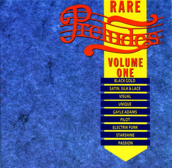 Rare Preludes Vol 1 Various Artists CD cover