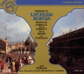 Alfredo Kraus, RCA Italiana Opera Chorus, Montserrat Caballé & RCA Italiana Opera Orchestra - Donizetti: Lucrezia Borgia artwork