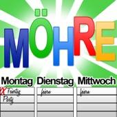 Montag Dienstag Mittwoch - Möhre