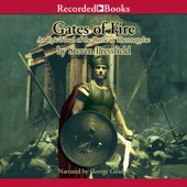Gates of Fire: An Epic Novel of the Battle of Thermopylae (Unabridged) - Steven Pressfield Cover Art