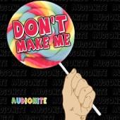 Don't Make Me! - EP cover art