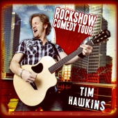 Cover to Tim Hawkins's Rockshow Comedy Tour