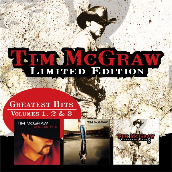 Greatest Hits Vols 1 2 Amp 3 Album Cover By Tim Mcgraw