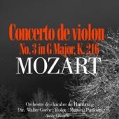 Violin Concerto No. 3 In G Major, K. 216: I. Allegro - Orchestre de chambre de Hambourg & Walter Goehr