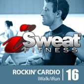 iSweat Fitness Music Vol. 16 Rockin' Cardio 145 BPM For Running, Walking, Elliptical, Treadmill, Aerobics, Fitness