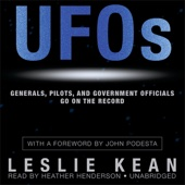 UFOs: Generals, Pilots, and Government Officials Go on the Record (Unabridged) - Leslie Kean Cover Art