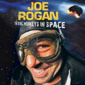Cover to Joe Rogan's Talking Monkeys In Space