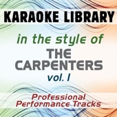 Close To You (Karaoke Version) [In the Style of Carpenters]