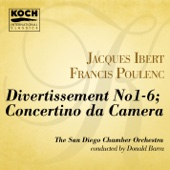 Divertissement - V. Parade - The San Diego Chamber Orchestra & Donald Barra