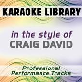 Rendezvous (Karaoke Version) [In the Style of Craig David]