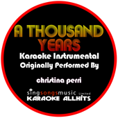 [Download] A Thousand Years (Originally Performed By Christina Perri) [Audio Karaoke Instrumental] MP3
