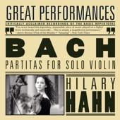 Hilary Hahn Plays Bach - Hilary Hahn Cover Art