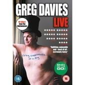 Greg Davies - Firing Cheeseballs at a Dog  artwork