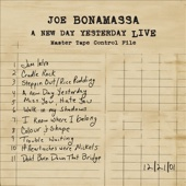 Joe Bonamassa - A New Day Yesterday: Live  artwork