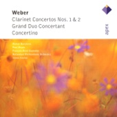 Weber: Clarinet Concertos Nos 1 & 2, Grand Duo Concertant & Concertino
