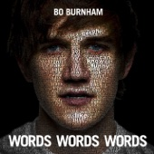 Cover to Bo Burnham's Words Words Words (Deluxe Edition)