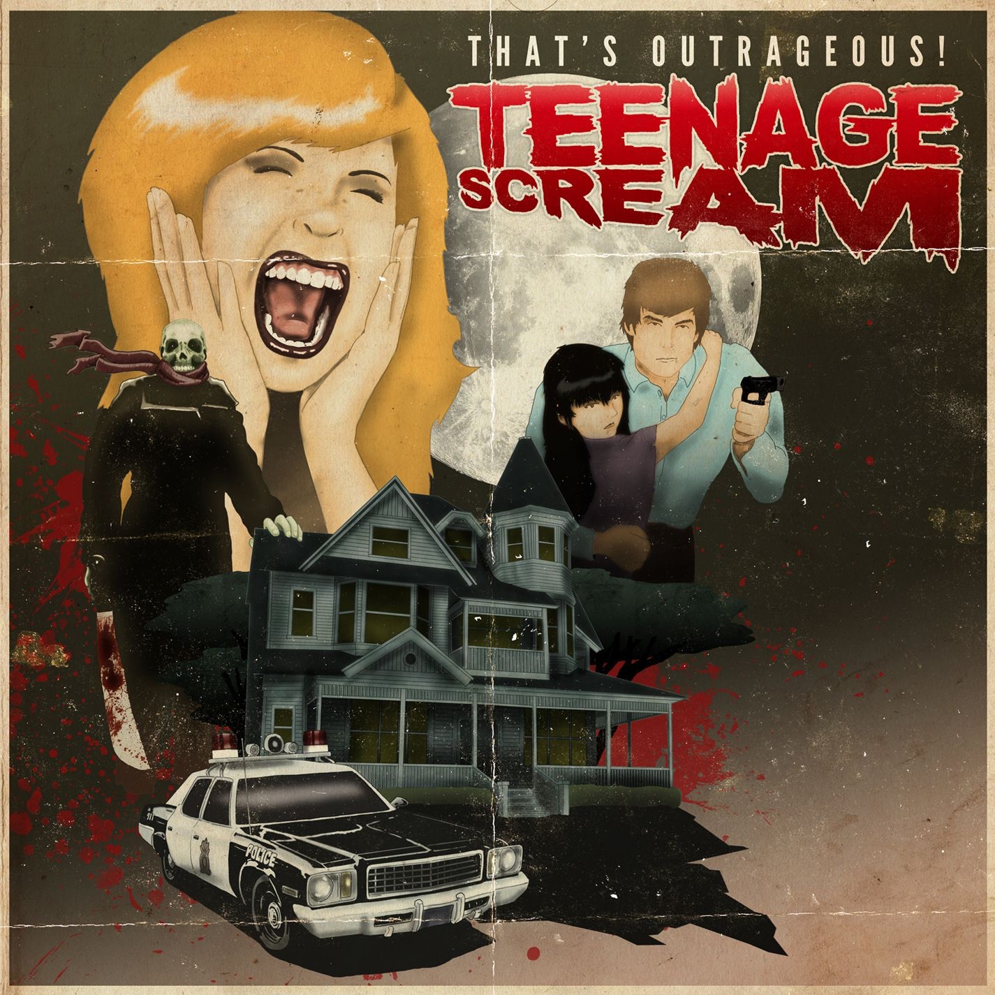 That's Outrageous! - Teenage Scream (2011)