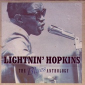 Lightnin' Hopkins - The Blues Anthology  artwork