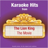 Karaoke Hits from - The Lion King - The Movie