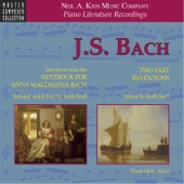 Notebook for Anna Magdalena Bach: Minuet in G Major, BWV 114 - Diane Hidy & Keith Snell