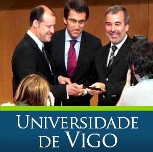 Acto de investidura do novo Reitor da Universidade de Vigo