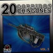 20 Corridos Chingones, Vol. 3