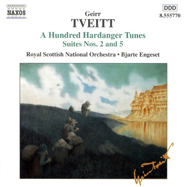 Tveitt  Suites Nos2 And 5 Bjarte Engeset  Royal Scottish National Orchestra CD cover