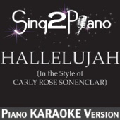 Ouça online e Baixe GRÁTIS [Download]: Hallelujah (In the Style of Carly Rose Sonenclar) [Piano Karaoke Version] MP3