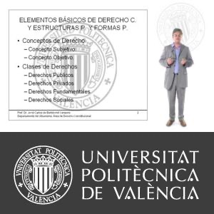 SD Estructuras y Formas Políticas
