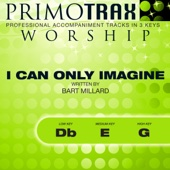 I Can Only Imagine (Low Key: Db - Performance Backing track)
