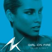 Girl On Fire (Bluelight Version) - Single cover art