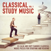 Classical Study Music, Vol. 1 (25 Calm and Soft Famous Music Pieces for Studying and Reading)