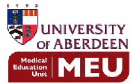 University of Aberdeen's Medical Education Unit