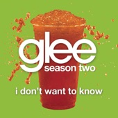 I Don't Want to Know (Glee Cast Version) - Single