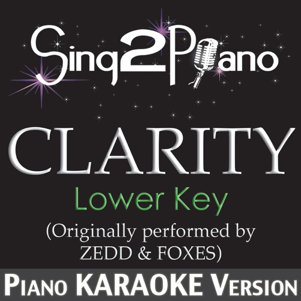 Clarity Album Cover by Sing2Piano