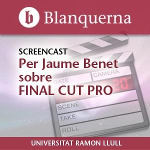 Screencast Final Cut Pro 7