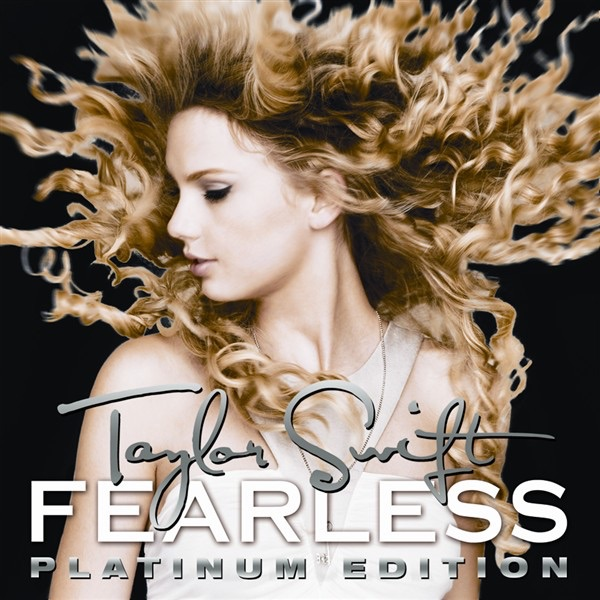 Fearless Platinum Edition Taylor Swift CD cover