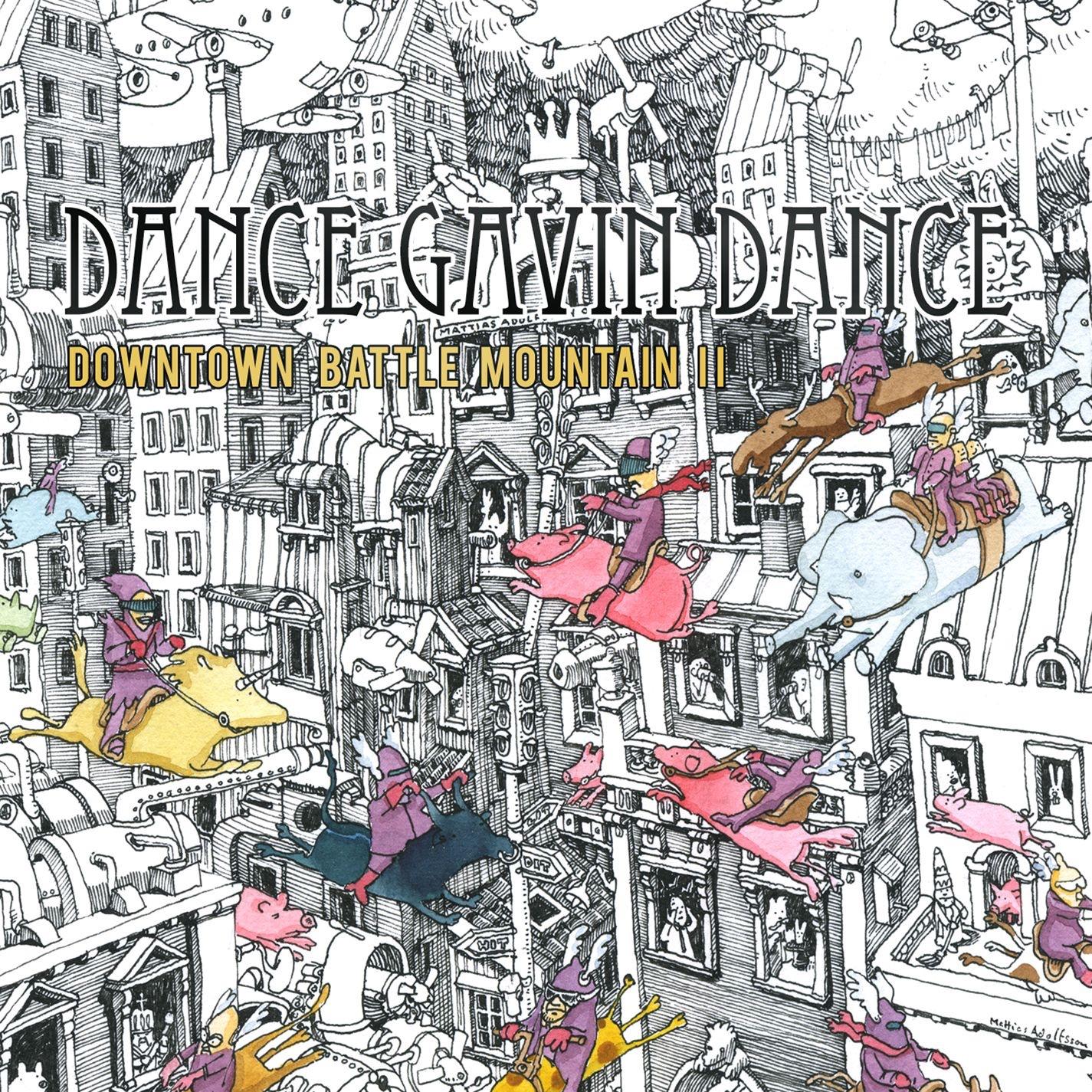 Dance Gavin Dance - Downtown Battle Mountain II (2011)