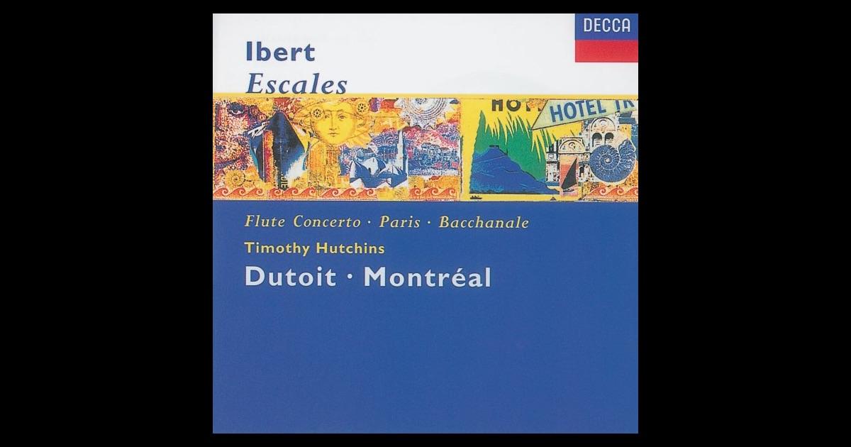 Ibert Flute Concerto Program Notes For Ibert