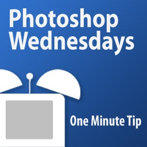 One Minute Tip - Photoshop Wednesdays (Fullscreen)