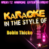 Karaoke (In the Style of Robin Thicke) - EP