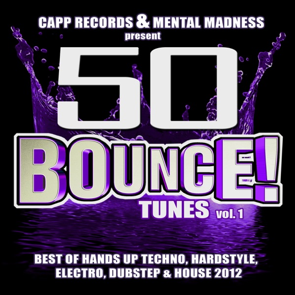 50 bounce tunes vol 1 album cover by various artists for Top 50 house songs