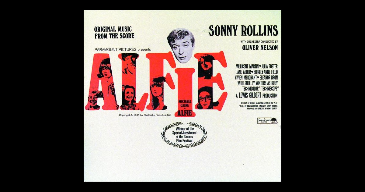 Alfie Original Music From The Score By Sonny Rollins On