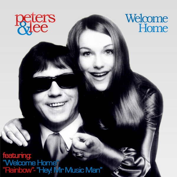 Welcome Home Peters  Lee CD cover