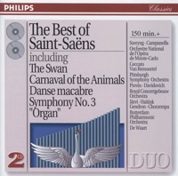 Picture of The Best of Saint-Saëns by Pittsburgh Symphony Orchestra & André Previn