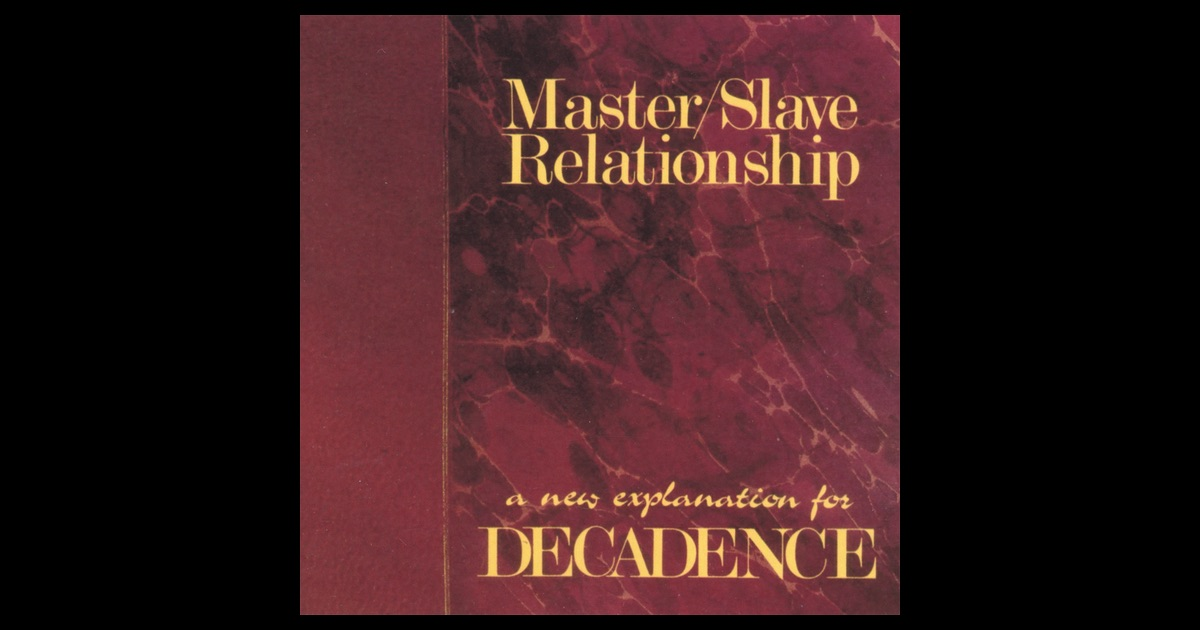 an analysis of the relationship of masters on slaves The master–slave dialectic is the common name for a famous passage of georg wilhelm friedrich hegel's phenomenology of spirit, though the original german phrase, herrschaft und knechtschaft, is more properly translated as lordship and bondage it is widely considered a key element in hegel's philosophical system, and has heavily influenced many subsequent philosophers.