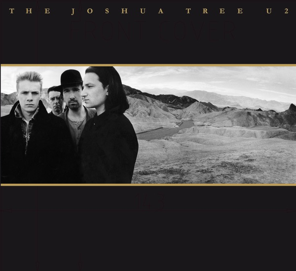 The Joshua Tree Deluxe Edition Remastered U2 CD cover