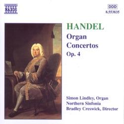 Handel - Organ Concerto in G minor, Op.4 No.1 - I. Larghetto, e staccato