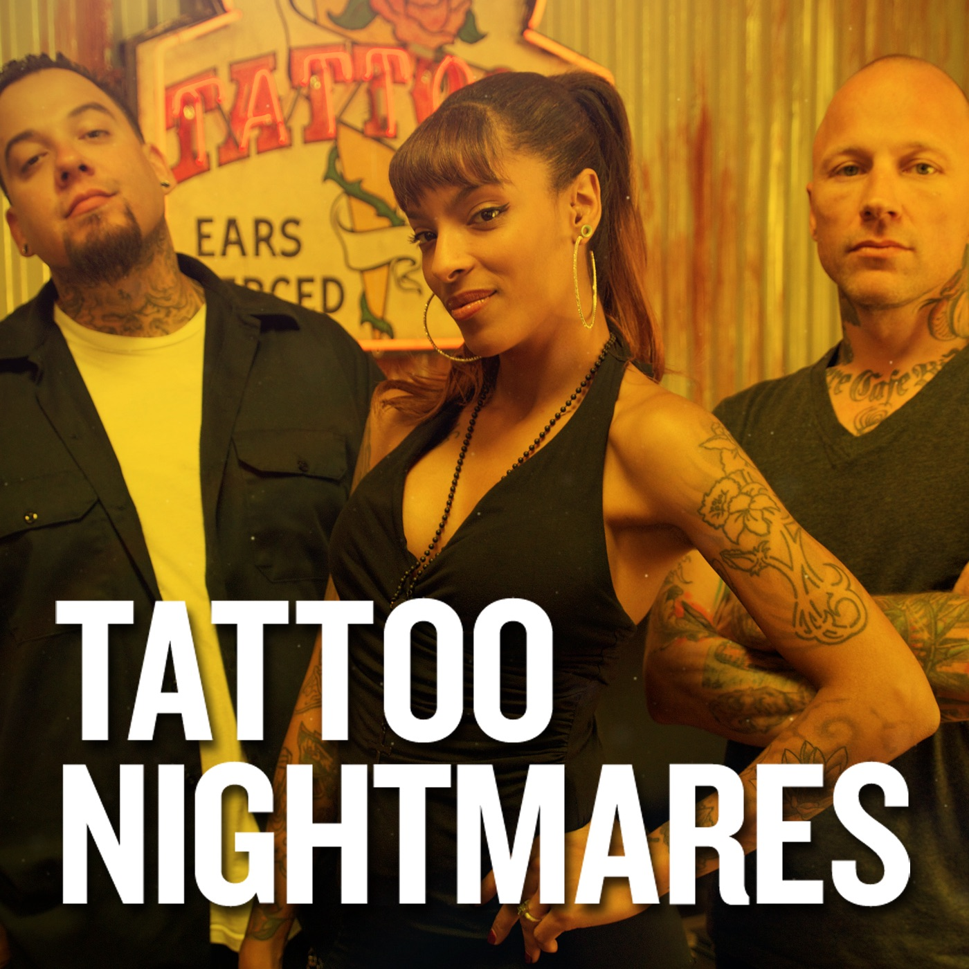 Tattoo nightmares season 1 on itunes for Tattoo nightmares shop appointment with jasmine