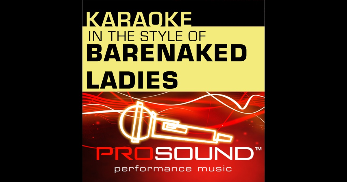 bare naked ladies sound of your voice № 101323